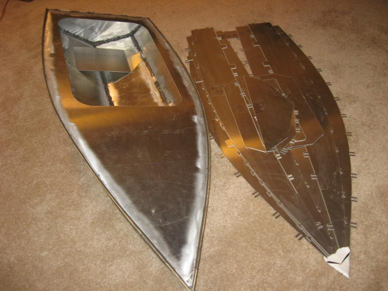 Small Jet Boats >> Metal Hull, - Modelgasboats.com
