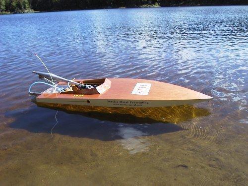 "48"" Deep Vee - Modelgasboats.com"