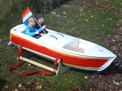 New Woodbuild Jersey Speed Skiff - Modelgasboats.com